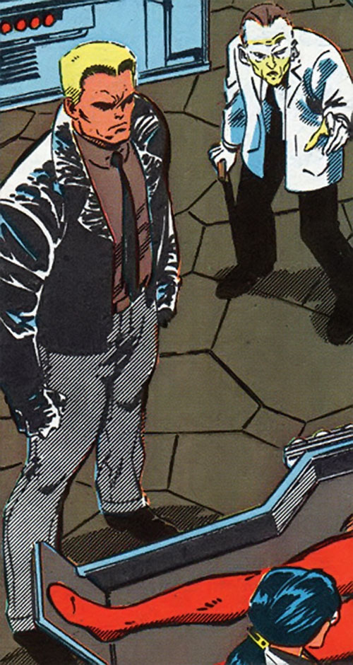 Master Man (Marvel Comics) in his brownshirt outfit