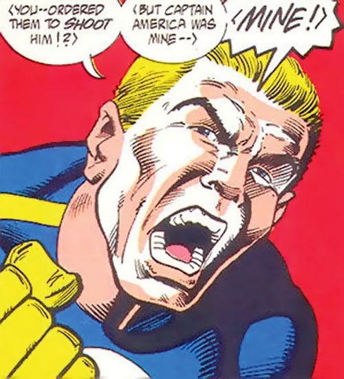 Master Man (Marvel Comics) yelling