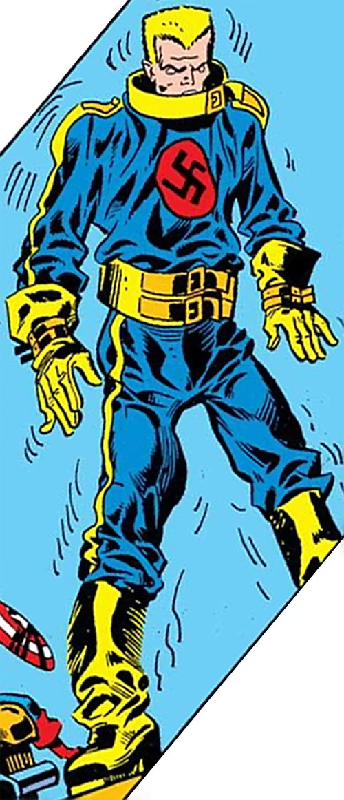Master Man (Marvel Comics) depowered