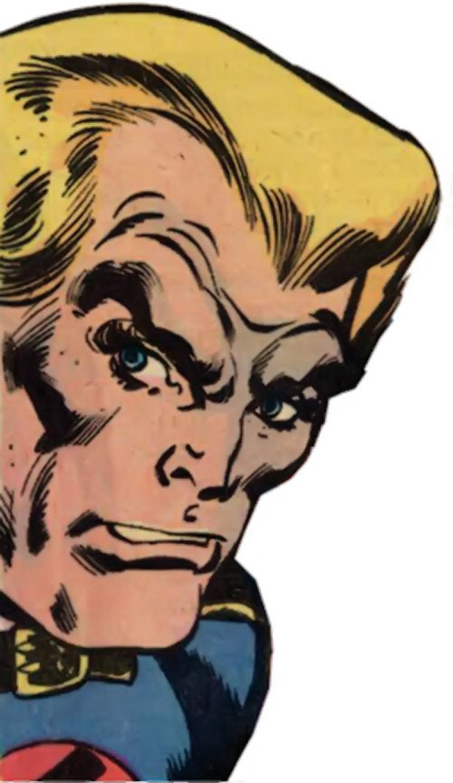 Master Man (Marvel Comics) face closeup