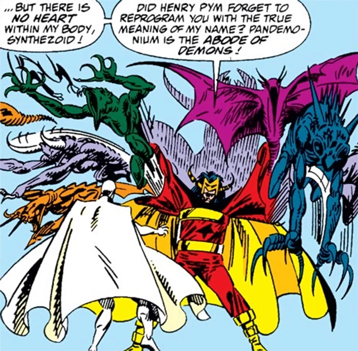 Master Pandemonium vs. the Vision