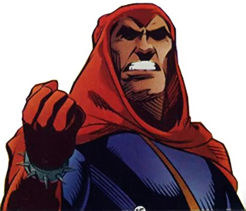 Master of the Hunt (Freex character) (Ultraverse comics) face closeup