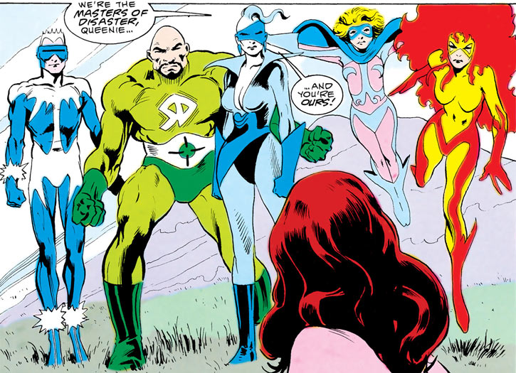 The Masters of Disaster (DC Comics) in Markovia