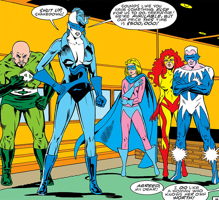 DC Comics' Masters of Disasters negotiating