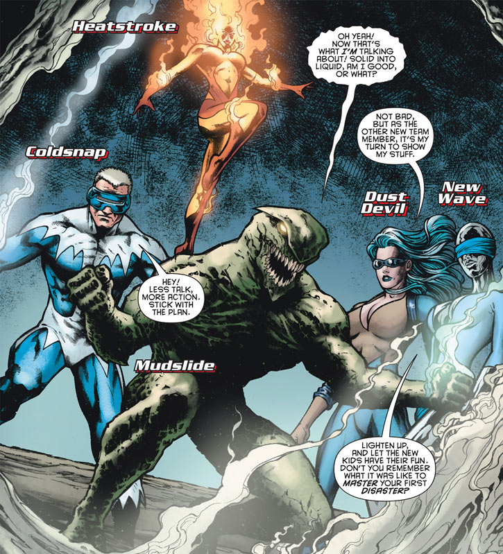 2009 version of DC Comics' Masters of Disaster