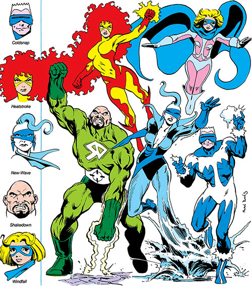 Masters of Disaster (DC Comics team) Who's Who