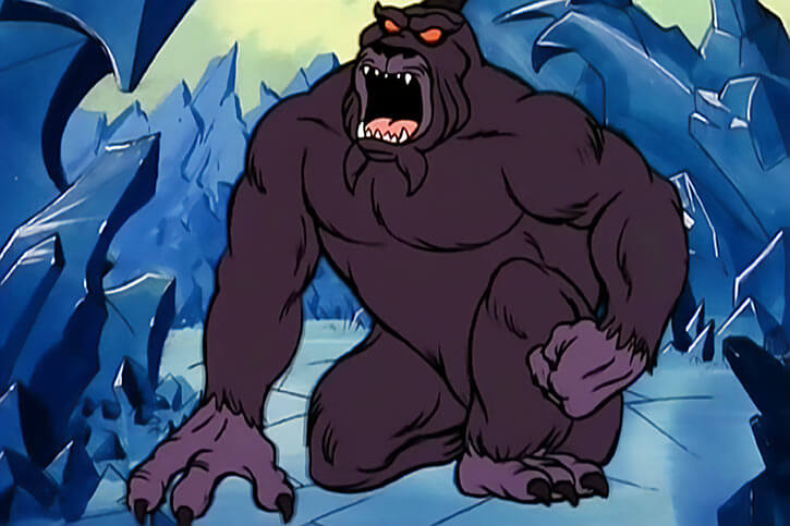 Masters of the Universe 1980s cartoon - Animals and monsters - Shadow beast