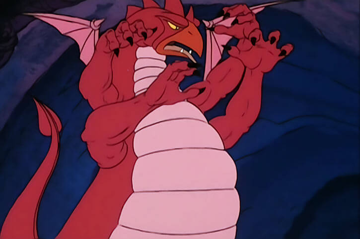 Masters of the Universe 1980s cartoon - Animals and monsters - Kraken
