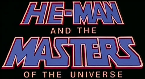 He-Man and the Masters of the Universe title logo