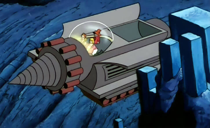 Masters of the Universe - 1980s cartoon - Roto rocket