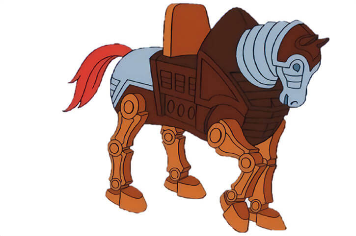 Masters of the Universe - 1980s cartoon - Stridor robot horse