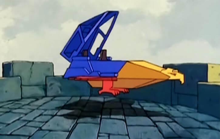 Masters of the Universe - 1980s cartoon - Talon fighter