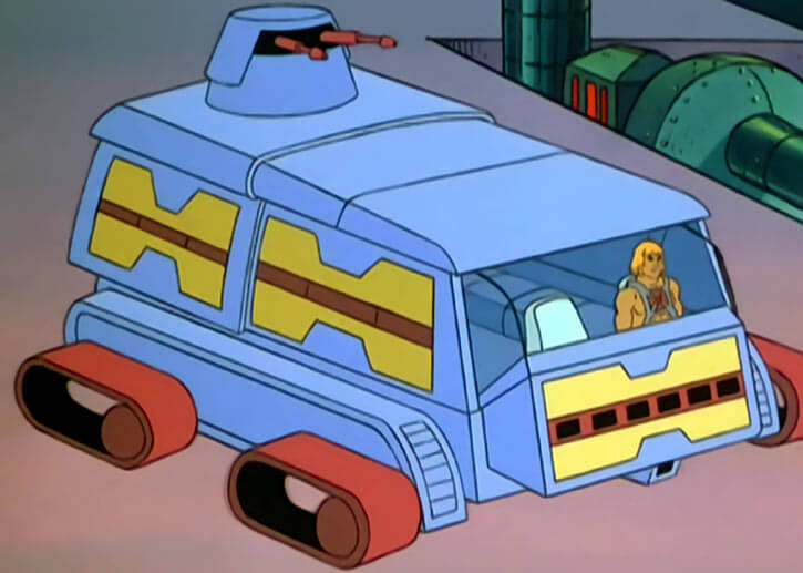 Masters of the Universe - 1980s cartoon - Attack trak
