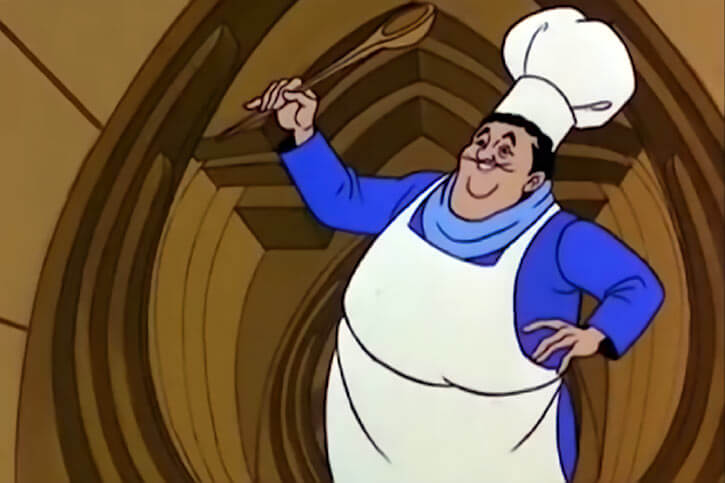 Masters of the Universe - 1980s cartoon - Chef Allen the cook