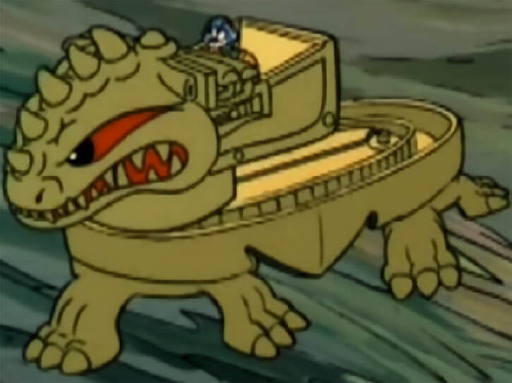 Masters of the Universe - 1980s cartoon - Dragon walker