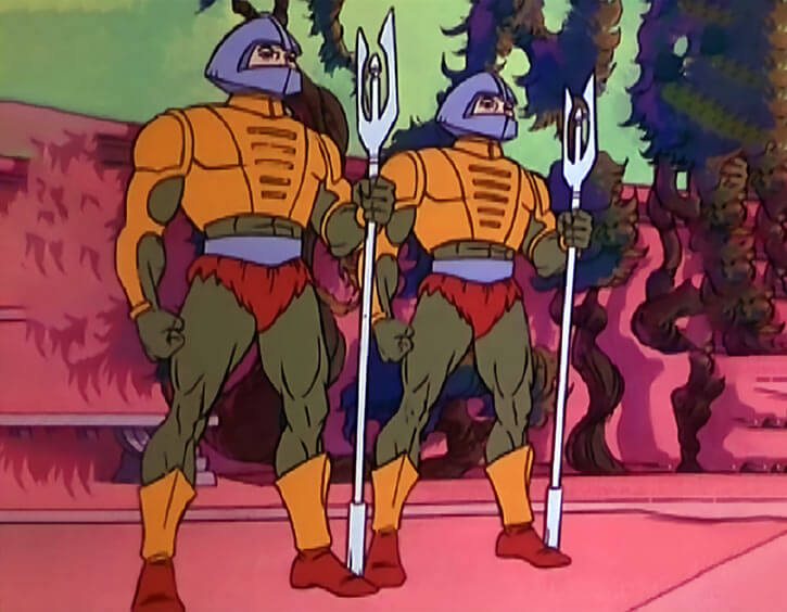 Masters of the Universe - 1980s cartoon - Royal palace guards