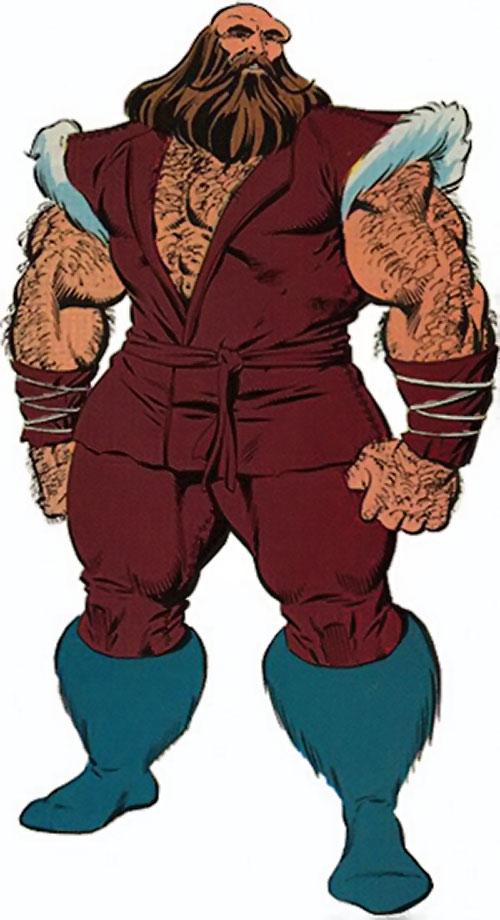 Mastodon DP7 (Marvel Comics New Universe)