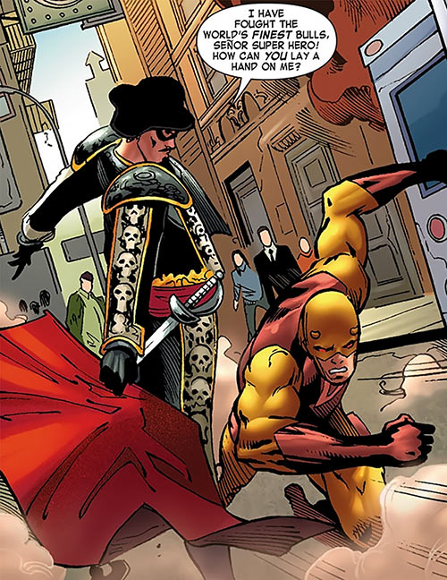 Matador vs. Daredevil (Marvel Comics) in the Season One retelling
