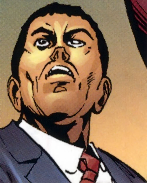 Matador (Daredevil enemy) (Marvel Comics) face closeup