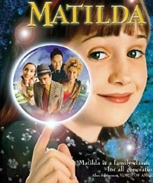 Matilda (Mara Wilson in Matilda) poster detail