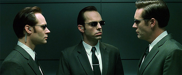 Agent Smith and his two colleagues