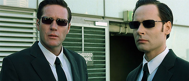 Two Matrix agents