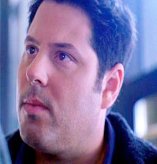 Matt Parkman (Greg Grunberg in NBC's Heroes) face closeup