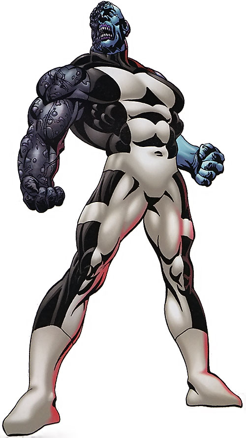 Mauler Twin (Invincible enemy) (Image Comics) damaged and disfigured