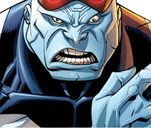 Mauler Twins (Invincible enemy) (Image Comics) face closeup