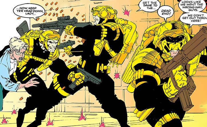 Maverick (Christopher North) (Marvel Comics) Team X Berlin flashback