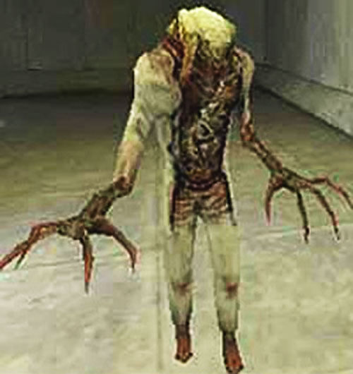 Mawman (Half-Life video game) in a corridor