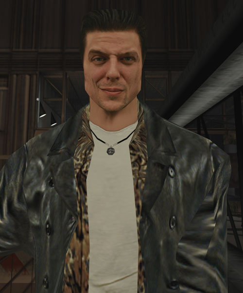 Max Payne (video game) smirking