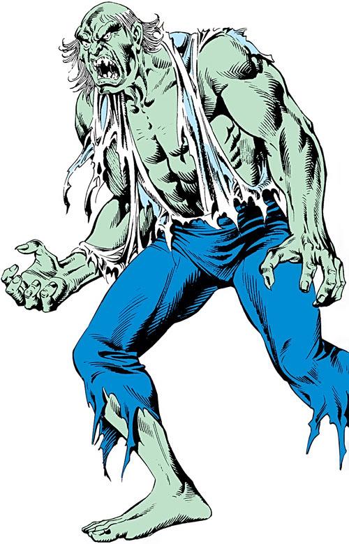 Max Hammer Stryker (Hulk enemy) (Marvel Comics)