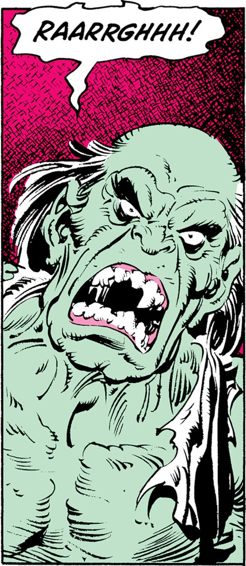 Max Hammer Stryker (Hulk enemy) (Marvel Comics) gamma mutate yell