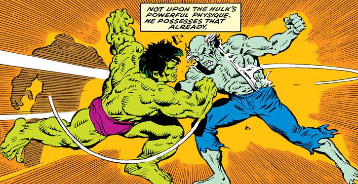 Max Stryker vs. the Hulk