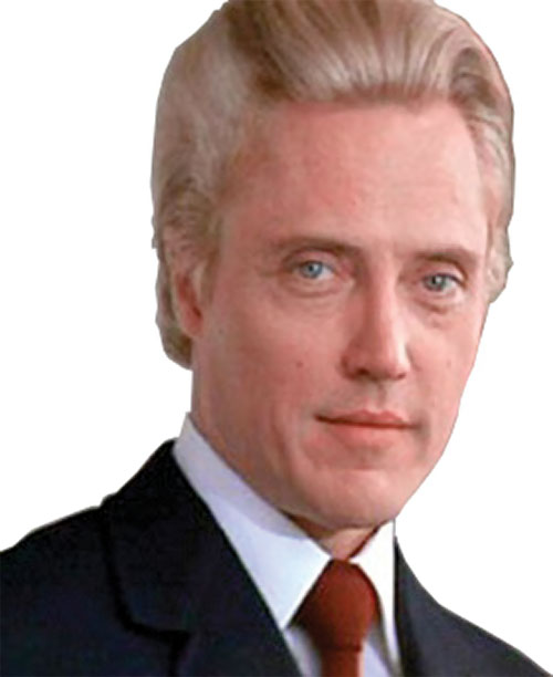 Max Zorin (Christopher Walken in James Bond A View To A Kill) portrait
