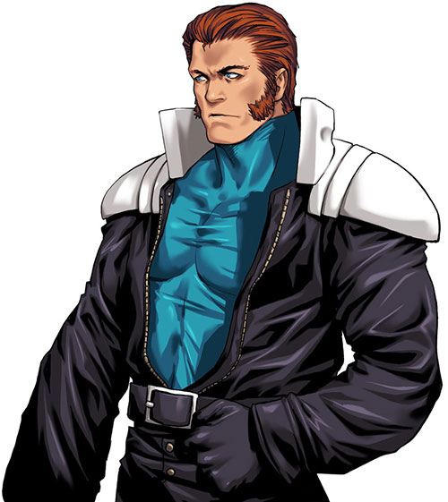 Maxima (King of Fighters) upper body