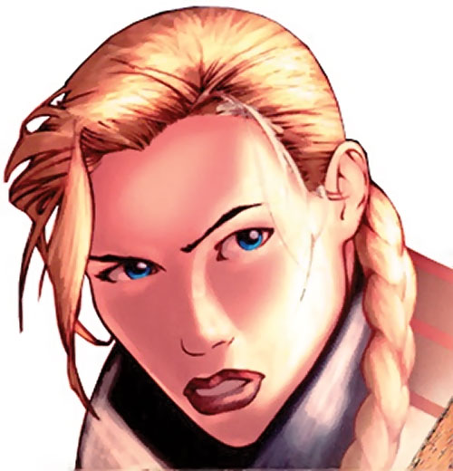 Maya Antares (Red Star Comics Image) angry face closeup