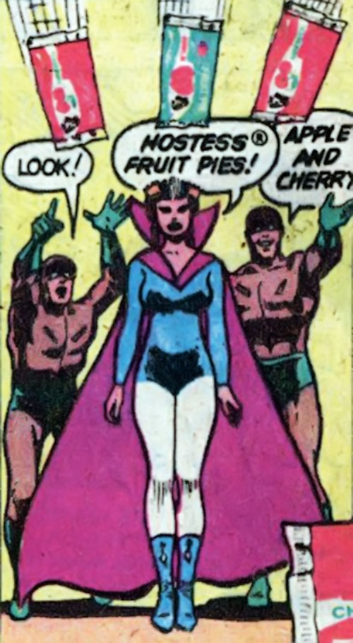 Medusa (Hostess Comics) and her henchmen