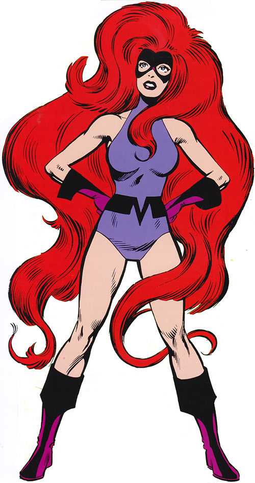 Medusa of the Inhumans (Marvel Comics) during the 1980s
