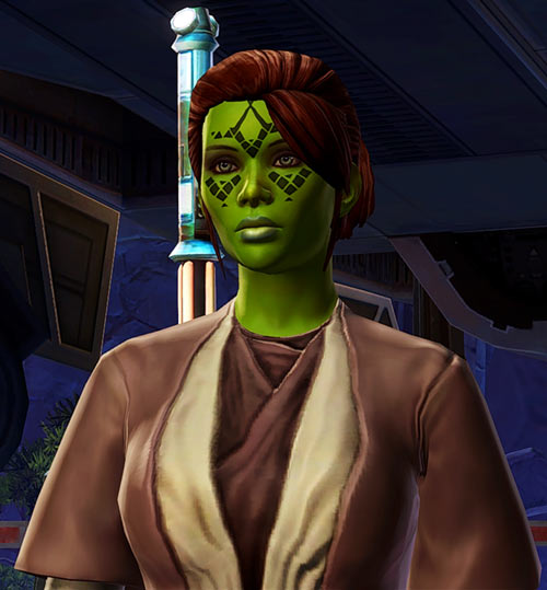 Meeyelle Jedi Consular - Star Wars Old Republic MMO - Fresh out the shuttle
