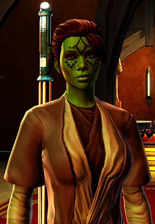 Meeyelle Jedi Consular - Star Wars Old Republic MMO - Quiet