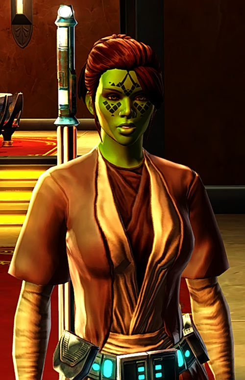 Meeyelle Jedi Consular - Star Wars Old Republic MMO - Talking