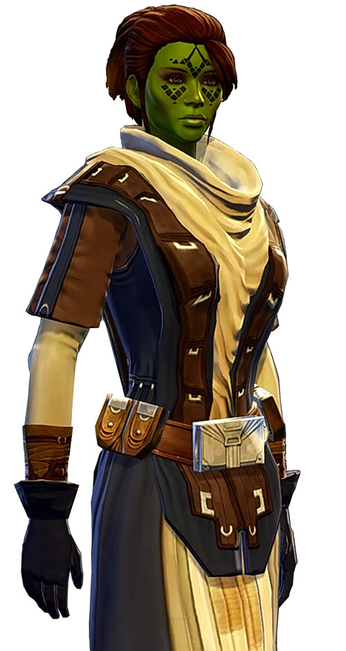 Meeyelle Jedi Consular - Star Wars Old Republic MMO