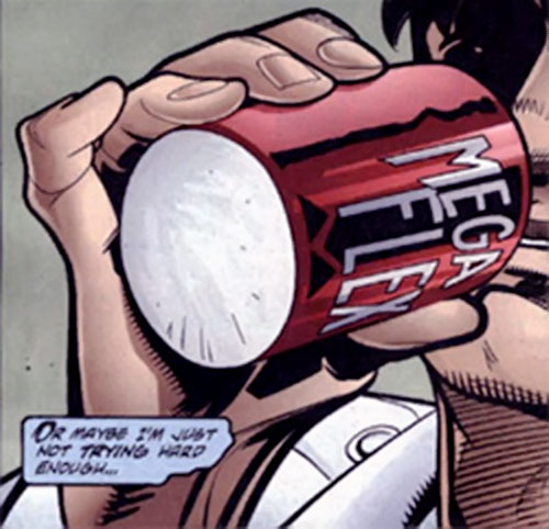 Mega-Flex enhancer cola (from Nightwing) (DC Comics)
