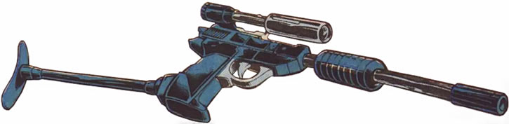 Megatron (Transformers) (Marvel Comics 1980s version) in Walter P38 pistol form