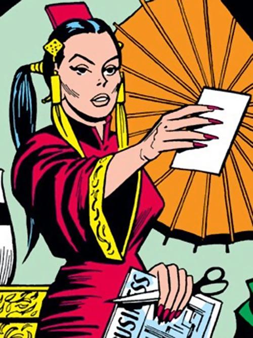 Mei Ling (Mandarin) (Iron Man character) (Marvel Comics)