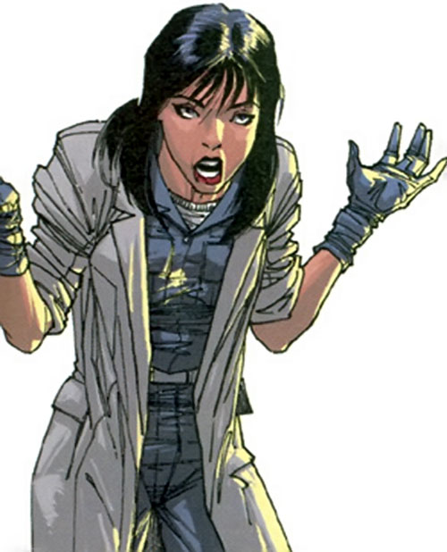 Melanie Grunier of Stormwatch Team Achilles (Wildstorm Comics)