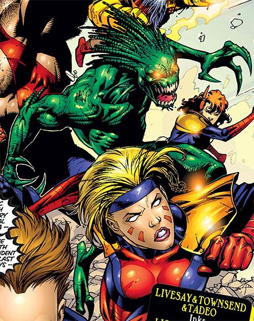 Mellencamp of the Acolytes of Magneto (X-Men enemy) (Marvel Comics)