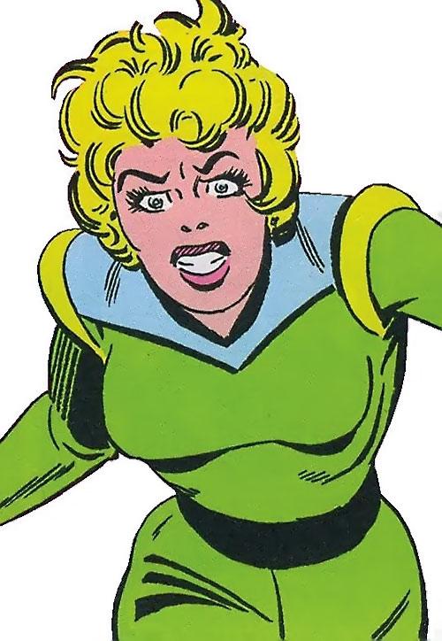 Mellu Loron (Shade the Changing Man) (DC Comics Ditko)